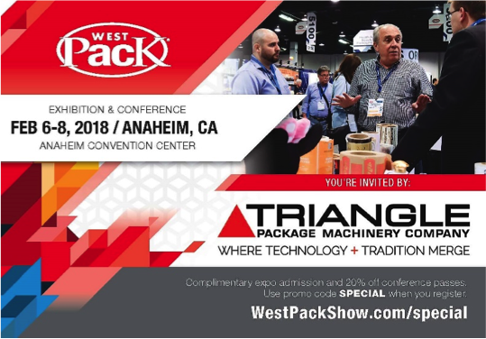 Come see Triangle at Westpack in Anaheim